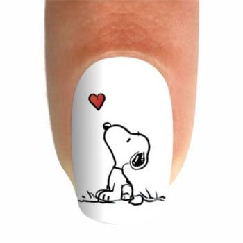 Adesivo para Unha - Snoopy