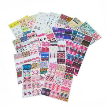 Kit Pronto 12 Cartelões Impressos